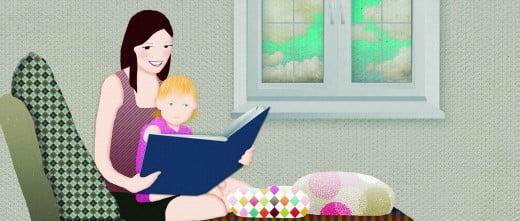 Primer libro que ayuda a las madres a explicar la procedencia de sus hijos.