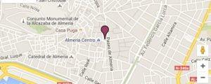 mapa Alborán: Centro Médico de la mujer