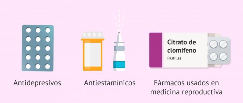 Imagen: Medicamentos que afectan al moco cervical
