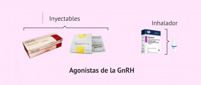 Imagen: Fármacos agonistas de la GnRH