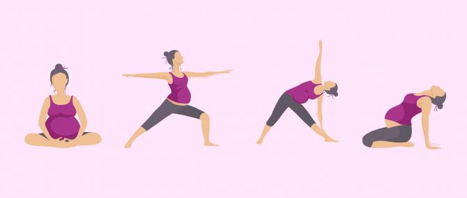 Imagen: Practicar actividades para ejercitar la pelvis