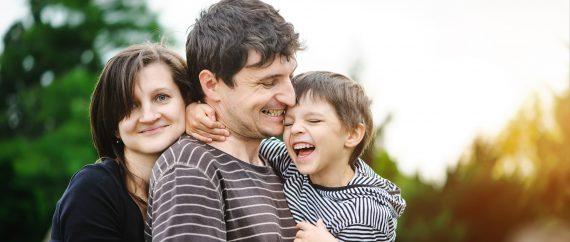 Nuestra familia nos quiere sin importar la genética