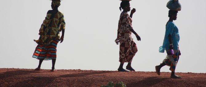 Imagen: Embarazadas en África con anemia