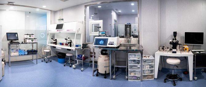 Imagen: Laboratorio de Ovoclinic Marbella