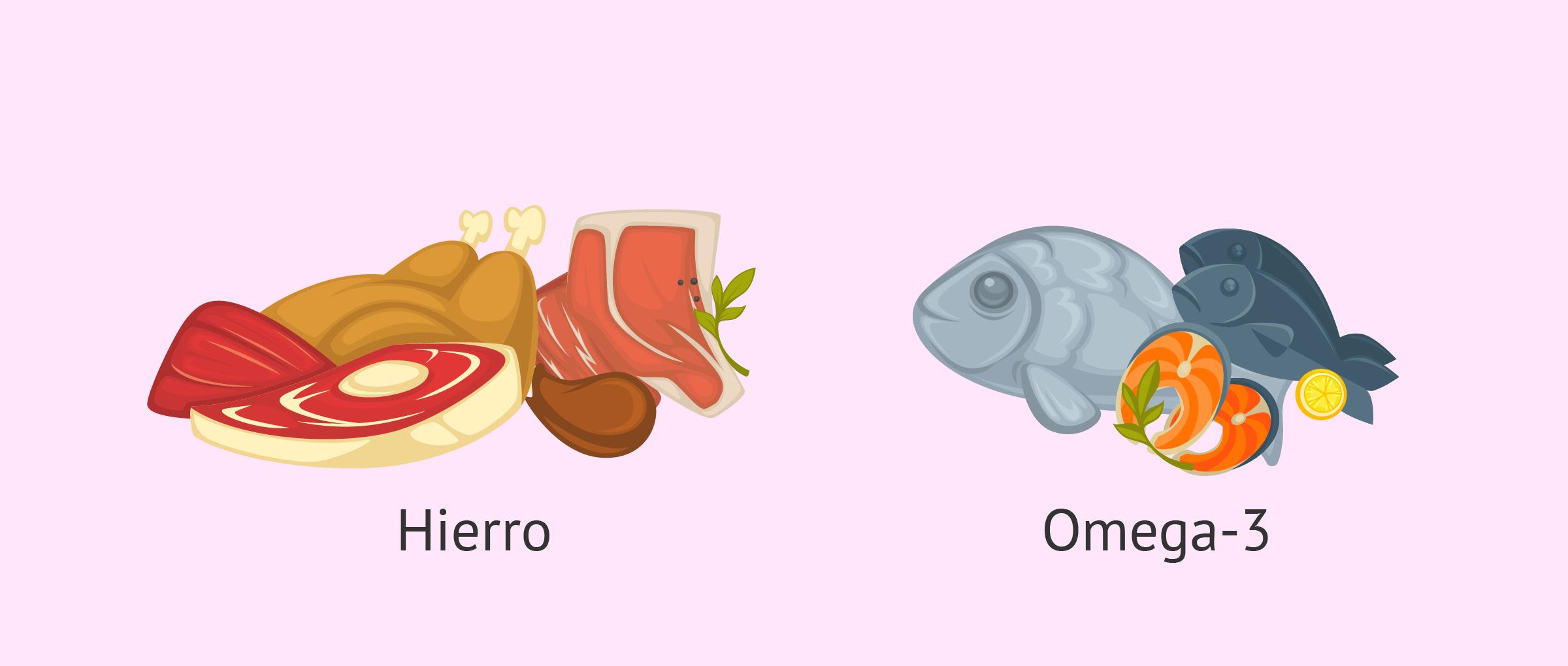 Carnes y pescados en el embarazo