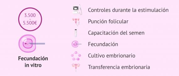 Precios de los tratamientos de fecundación in vitro