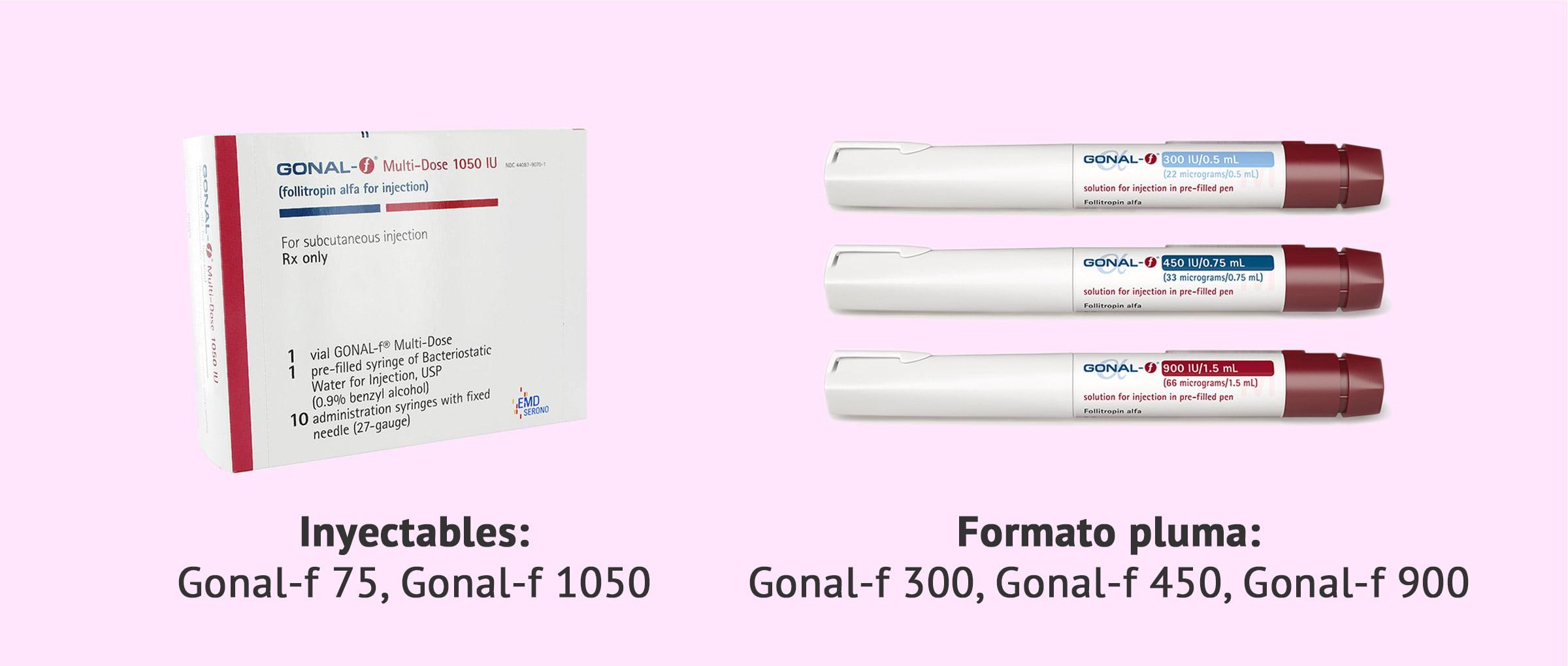 Forma de presentación de Gonal-f