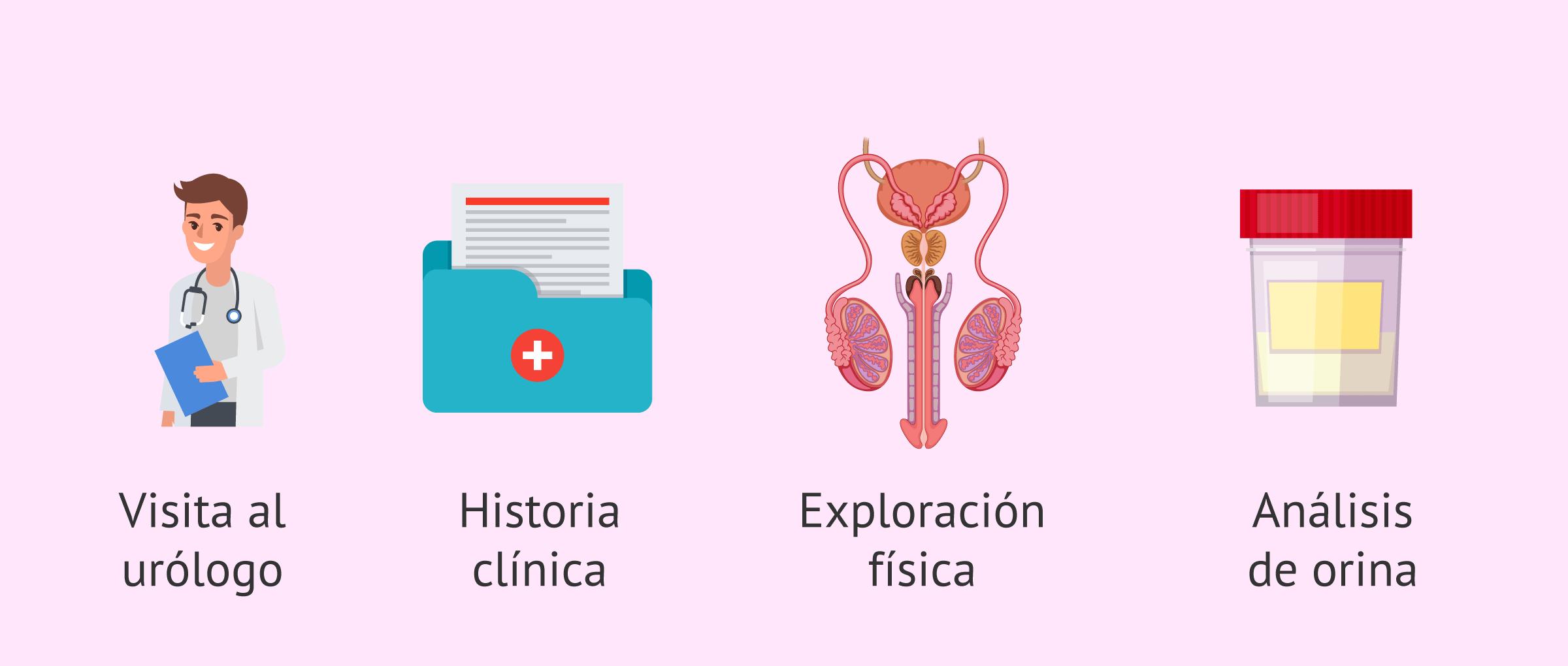 Pruebas para el diagnóstico de la eyaculación retrógrada
