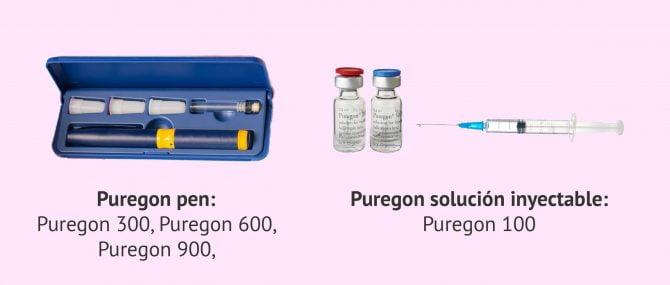 Imagen: Formatos de Puregon