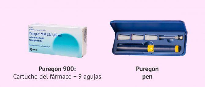 Imagen: Puregon 900 para reproducción asistida