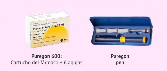 Imagen: Administrar la medicación con Puregon Pen