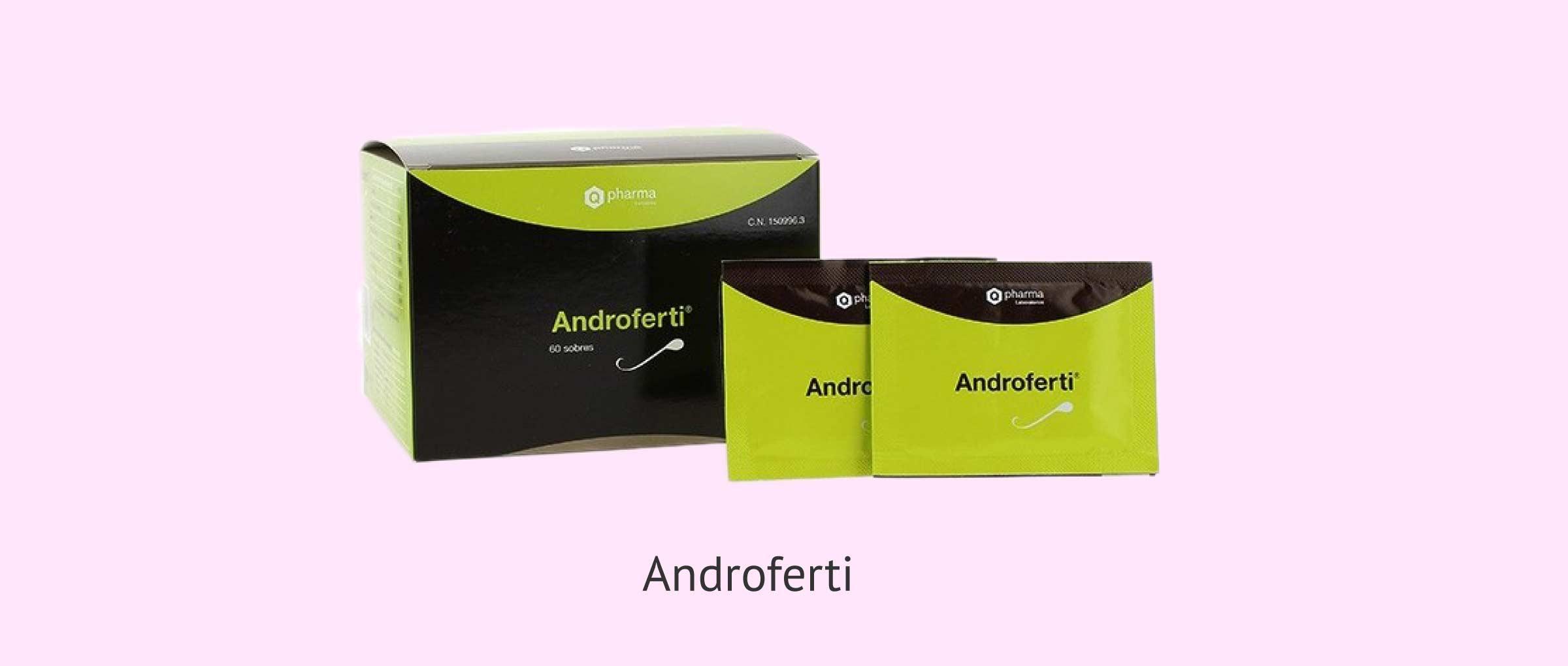 Androferti, un complemento alimenticio antioxidante para varones