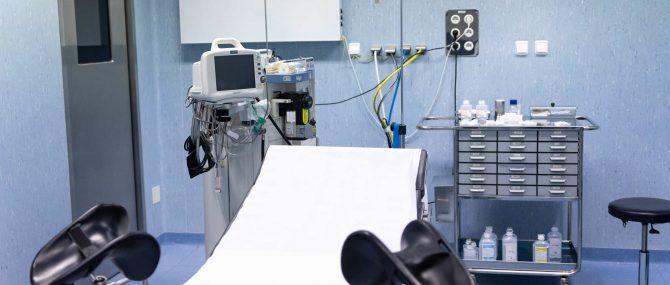 Imagen: Quirófano de la clínica Tambre