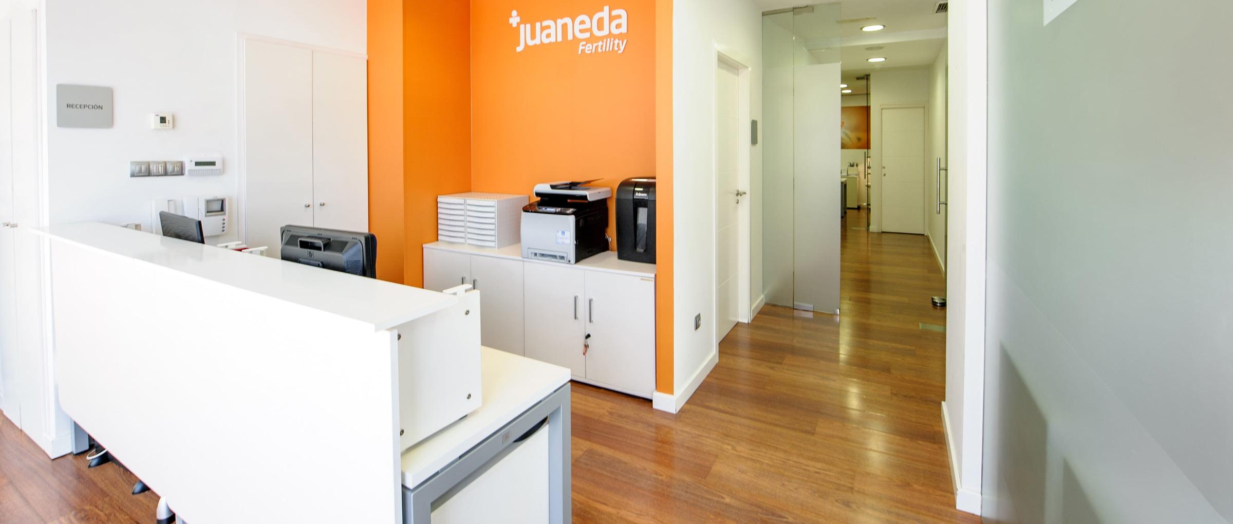 Recepción de Juaneda
