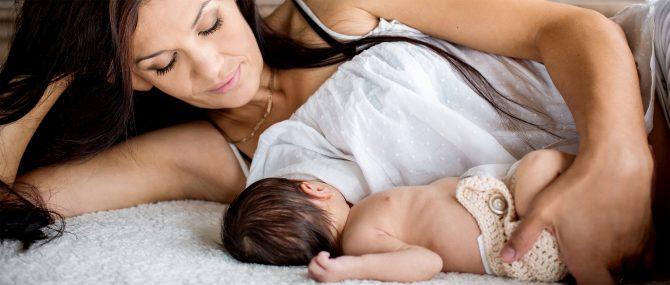 Imagen: Bebé sano en casa