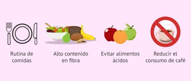 Imagen: Alimentos para engrosar el endometrio