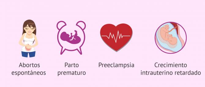 Imagen: Riesgos del embarazo con SAF