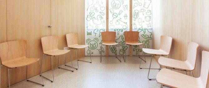 Sala de espera centro Accuna