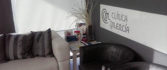 Sala de espera Clinica Mencia