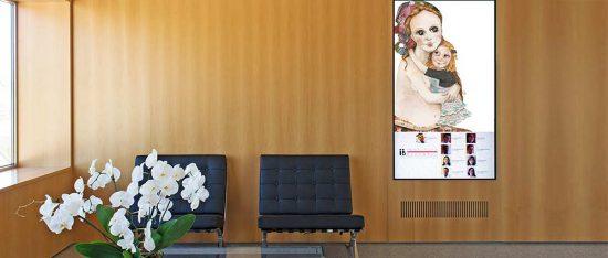 Sala de espera Instituto Bernabeu