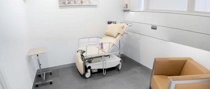Imagen: Sala de recuperación de IVF Donostia