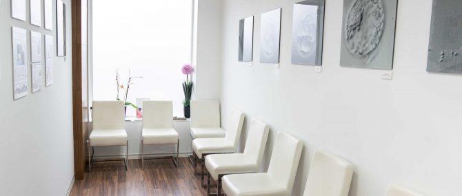 Imagen: Sala de espera de ART Reproducción
