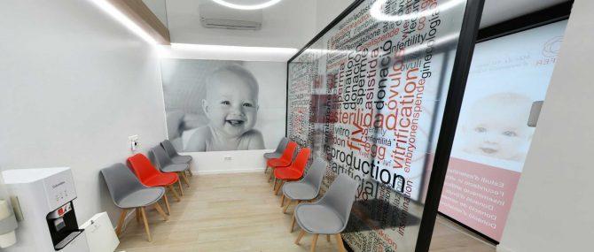 Imagen: Sala de espera para pacientes en CEFER