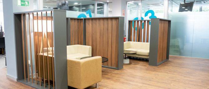 Imagen: Sala de espera IVF Donostia