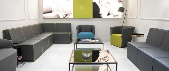 Imagen: Sala de espera de Reproclinic