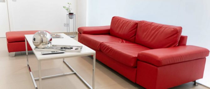 Imagen: Sala de espera privada de CERAM