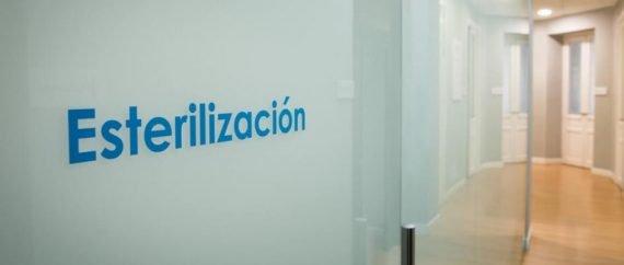 Sala estéril de  la clínica de Fertilidad Velázquez
