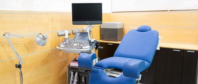 Imagen: Sala de exploración IVF Donostia