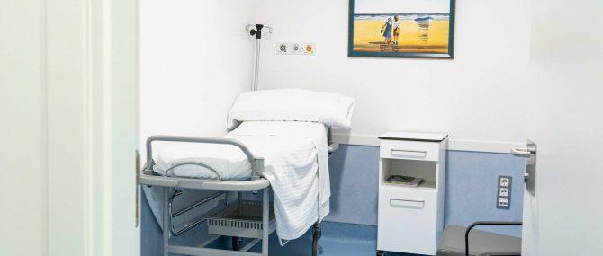 Imagen: Sala de recuperación de CERAM