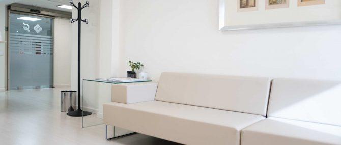 Imagen: Sala de espera Ginemed Valencia