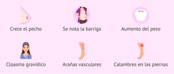 Síntomas en el tercer mes de embarazo