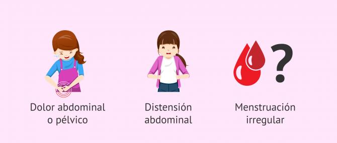 Imagen: Síntomas de quistes en los ovarios