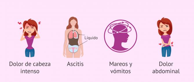 Imagen: Síntomas del SHO