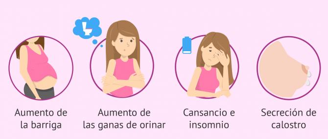 Dolor de espalda y vientre sintoma de embarazo