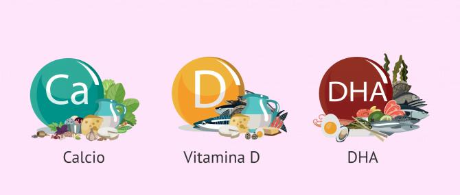 Imagen: Suplementos vitamínicos durante la lactancia materna