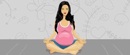 Imagen: Es importante estar completamente sana antes del embarazo