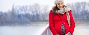 Trasladar a la embarazada al hospital con nieve
