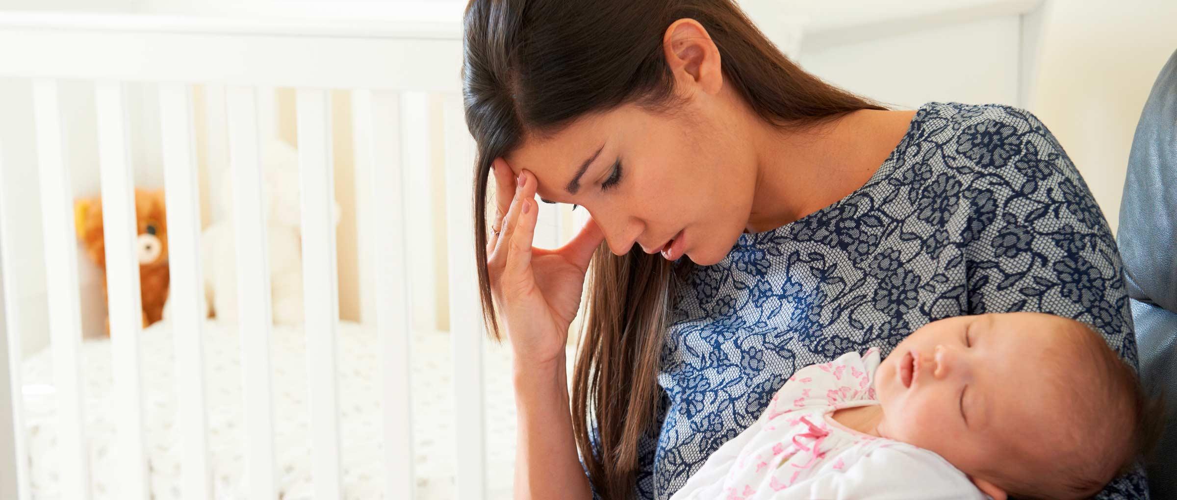 Tristeza tras el parto