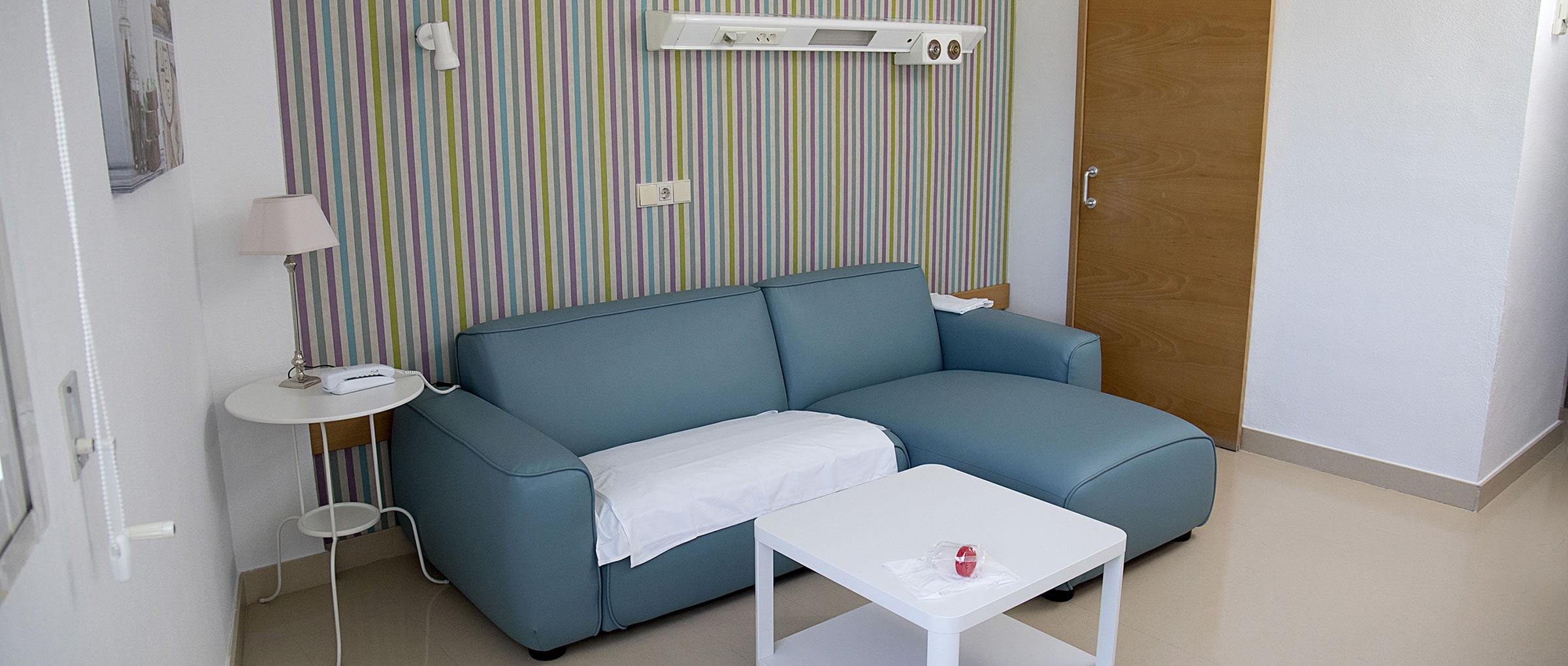 Unidad Phi Fertility Center area de espera