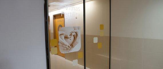 Unidad Phi Fertility Center entrada al centro