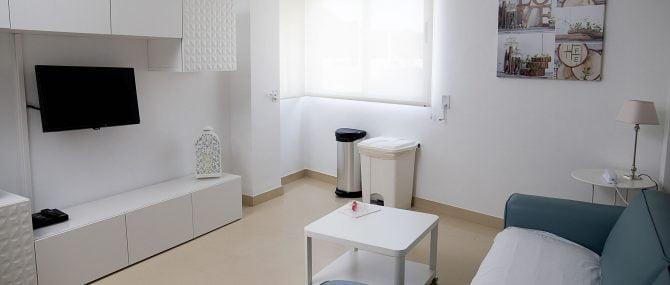 Imagen: Sala de espera de  Phi Fertility