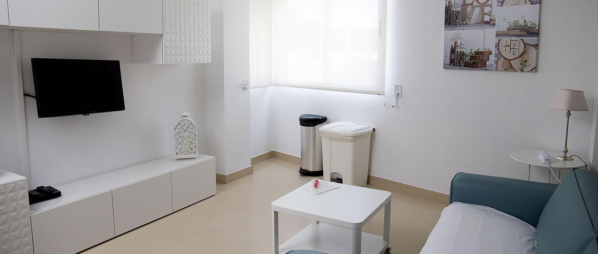 Sala de espera de  Phi Fertility