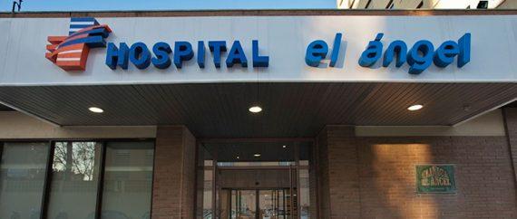 UR Hospital El Angel entrada