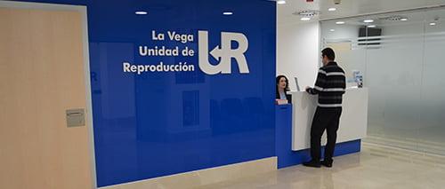 UR La Vega mostrador de recepcion