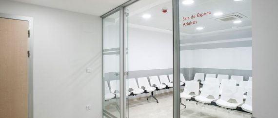UR Montpellier sala de espera