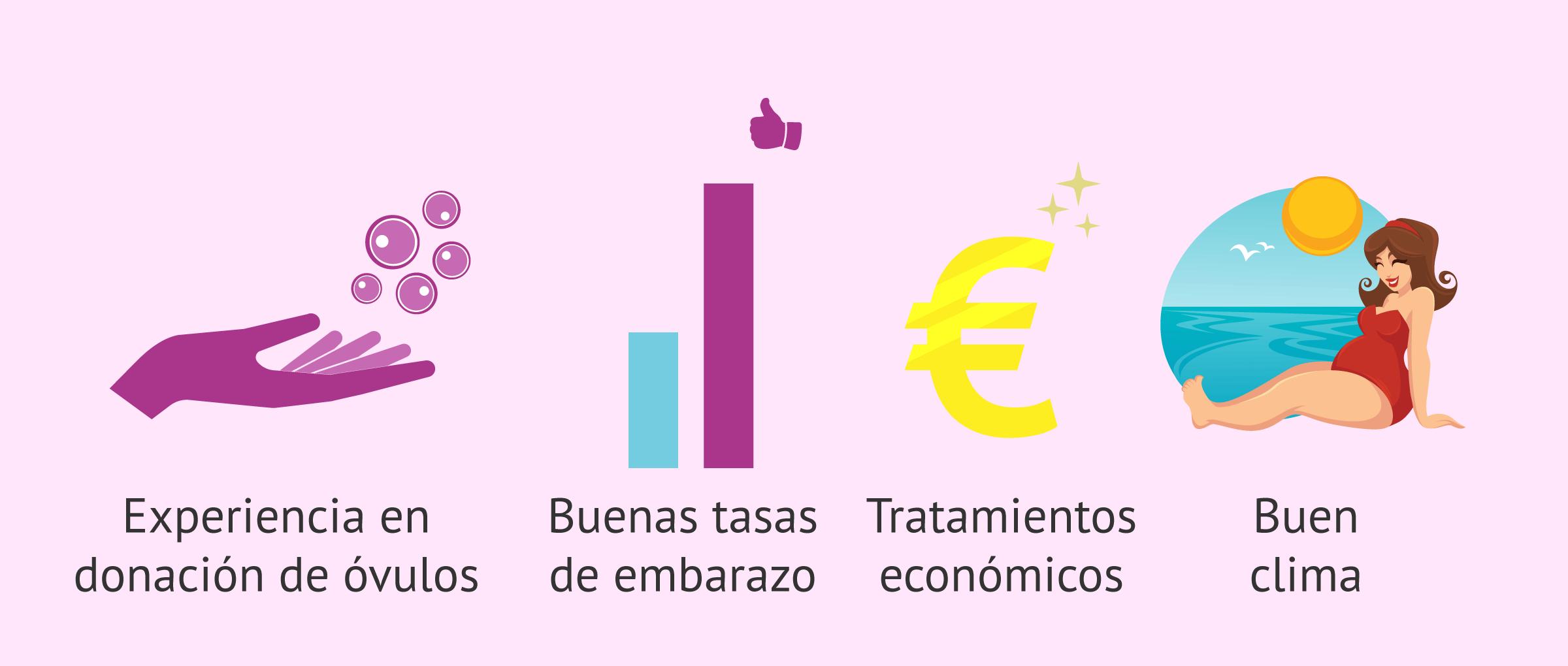 Ventajas del turismo reproductivo español